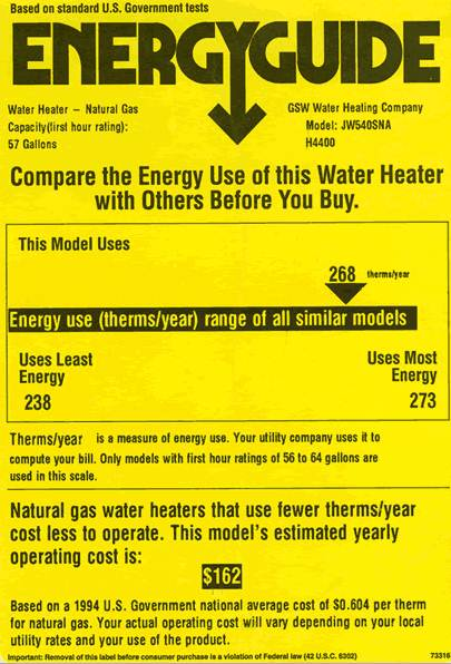 Learn How to Read the EnergyGuide Label