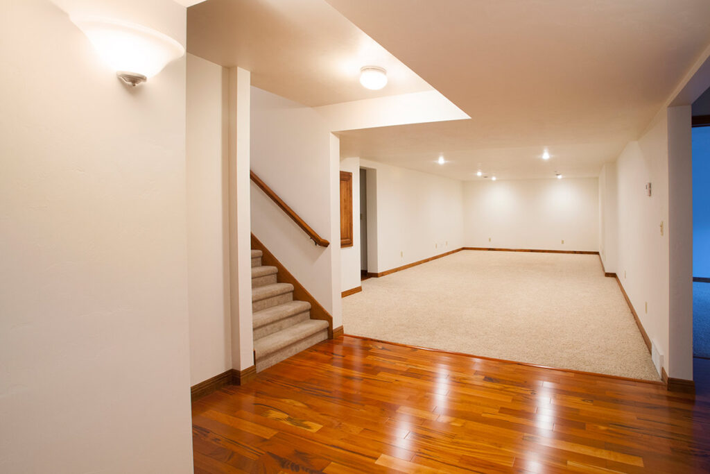Finished Basement or Attic