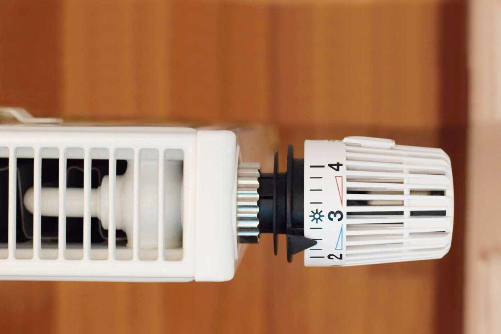 Home radiator thermostatic valve